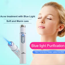 Sapphire Blue Light Therapy Kd 7910 Dropping Acne Laser Pen Portable Wrinkle Removal