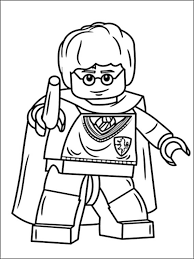 Small Picture Lego Harry Potter Coloring Pages 7 Coloring pages for kids