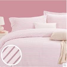 pretty simple pink striped funky 100 cotton duvet covers