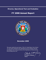 Jpeo Cbd Org Chart Fy 2008 Annual Report Director Operational Test And