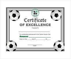 Soccer Certificate Templates For Word Soccer Certificate Templates Word Biya Templates Elite Board Us