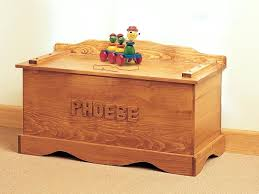 old fashioned wood toy chest includes a place for personalizing wooden box with name engraved wooden toy chest with name