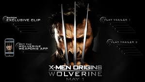 apple trailers x men origins wolverine