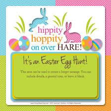 Easter Egg Hunt Invitation 10 00 Easter Egg Hunt E Card