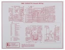 chassis wiring harness diagram 1968 laminated from mid america 1968 corvette laminated chassis wiring harness diagram