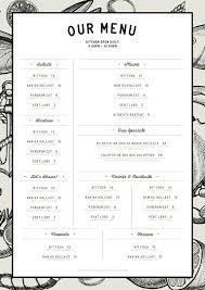 Make A Menu For A Restaurant How To Make A Restaurant Menu Template In Indesign