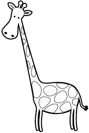 Small Picture free coloring book of giraffes Cartoon Giraffes Coloring Page