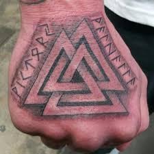 Image result for valknut tattoo