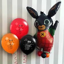 <b>Bing Bunny</b> Balloon Aluminium Foil Helium Cartoon Latex Balloons ...