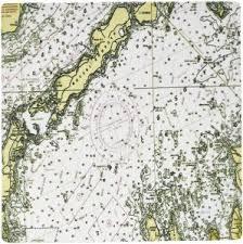 3drose Llc 8 X 8 X 0 25 Inches Mouse Pad Print Of Nautical Chart Of Buzzards Bay Massachusetts Mp_182877_1