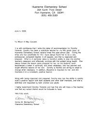 Reference Letter For Teachers Recommendation Letter Sample For Teacher From Student Httpwww 23