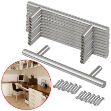Modern Kitchen Door Handles Stainless Steel T Bar Modern Kitchen Cabinet Door Handles Drawer