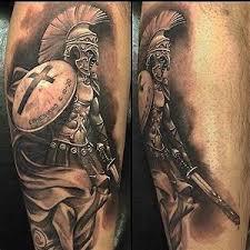 Spartansky Bojovnik Tetovani Význam Tohoto Tetování Většinou U