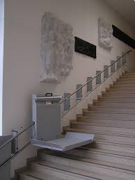 standing stair lift. Straight Platform Stairlift By THS Heis Standing Stair Lift O