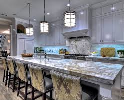 kitchen with marble countertop this is