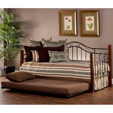 Cherry Wood Daybed With Trundle Daybeds Sleigh Bazzleme
