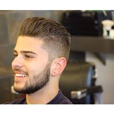 trendy haircuts for men 1 backbed hairstyle with beard