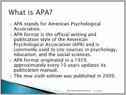 american phsycological association american psychological association apa style template resume