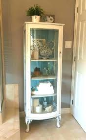 fascinating curio cabinets curio cabinet with glass door all glass curio cabinet antique curio cabinet