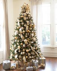 Silver and Gold Christmas Tree ...