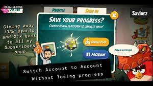 Angry Birds 2 Switch account without losing progress   Bypass permanent Ban.  - YouTube