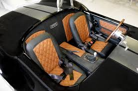 full custom interior upholstery for a cobra