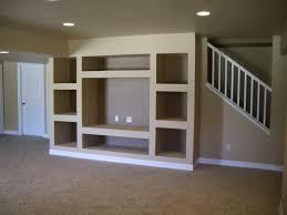 Built In Drywall Shelves Custom Drywall Entertainment Centers Built In Entertainment