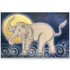 elephant art mythical erawan famous