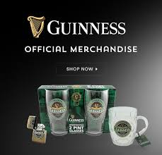 guinness official merchandise now