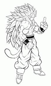 Small Picture Goku Super Saiyan Coloring Pages Goku Super Saiyan God Coloring