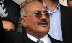 Ali Abdullah Saleh, the Yemeni president, who joined the list of embattled leaders warning of potential gains for al-Qaida. Photograph: EPA - Ali-Abdullah-Saleh-the-Ye-007