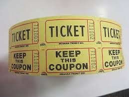2 part raffle tickets 2000 50 50 raffle tickets share the wealth fundraiser 2 part tickets