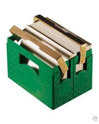 beer crate case memo holder