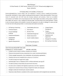Business Analyst Resume Stunning Business Analyst Resume Template 28 Free Word Excel PDF Free