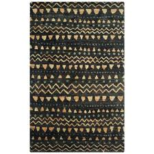 safavieh bohemian black gold 5 ft x 8 ft area rug