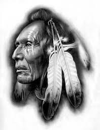 Tattoo Design Native American Warrior By Badfish1111 On Deviantart