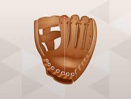 Infield Glove Size Chart Baseball Glove Size Guide Baseball Softball Sizing Charts