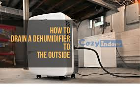 here are 3 ways to drain a dehumidifier