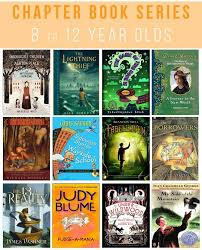 25 great chapter book series for 8 to 12 year olds
