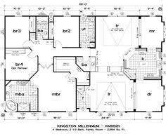 Perfect Golden West Kingston Millennium Floor Plans   5starhomes Manufactured Homes