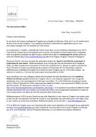 Letter from the president about the next congress FR1
