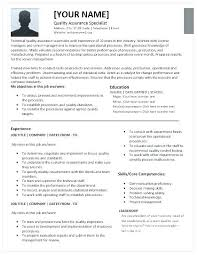 quality resumes quality analyst resume for bpo samples interesting assurance