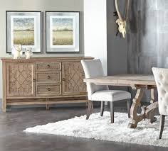 Braxton French Grey Buffet Sideboard with Nailheads2 c=2