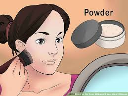 image led do your makeup if you wear gles step 4
