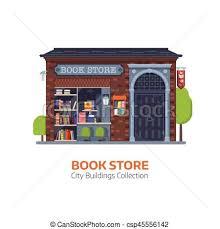 old book building facade csp45556142