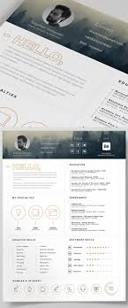 Resume Template Indesign Free Free Resume Template And Icons PSD Pinteres 66