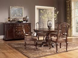 north s round dining room set
