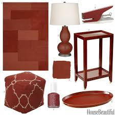 Small Picture Cinnamon Color Accessories Cinnamon Red Home Decor