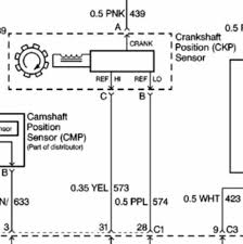 98 blazer no power to crankshaft position sensor wiring diagram the wiring diagrams seem to say that the crankshaft position sensor wiring connector should have one pink one yellow and one purple wire but mine only