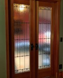 leaded glass stained glass art glass bay area custom design legacy glass studios interior french doors